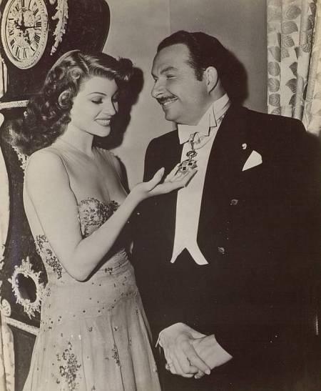 Rita Hayworth fue uno de las actrices descubiertas por Xavier Cugat