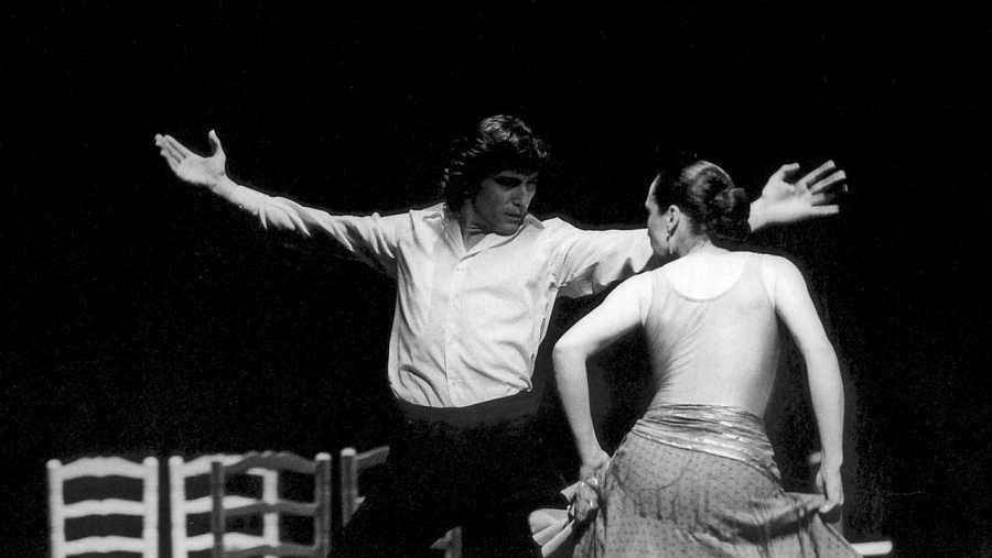 El bailarín y coreógrafo Antonio Gades