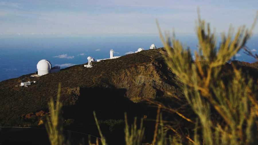El Roque de los Muchachos, en la isla de La Palma