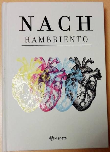 Portada del libro 'Hambriento', de Nach y publicado por la editorial Planeta