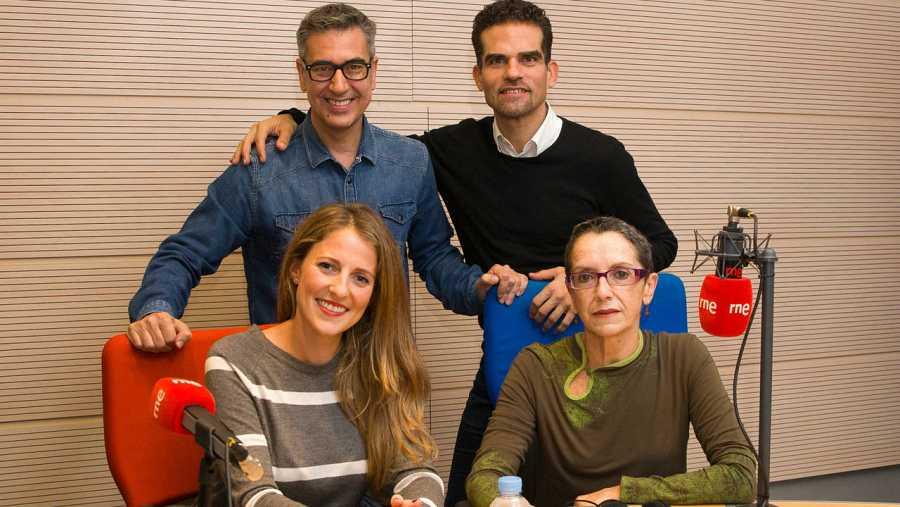 Otra imagen de nuestros invitados, en Rne Madrid