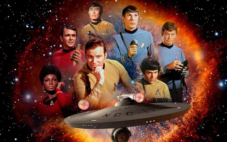 La tripulación original del Enterprise