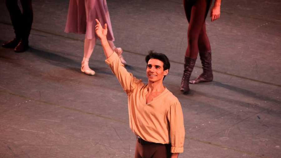 El bailarín Joaquín de Luz