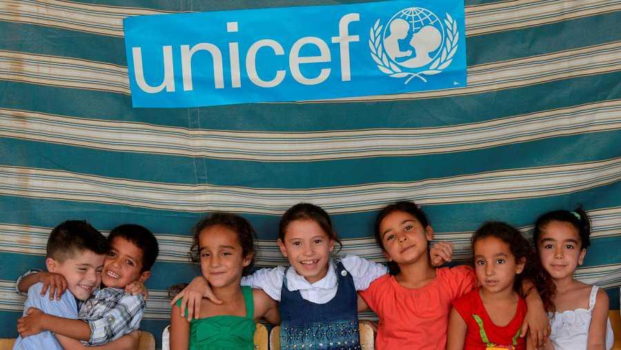 Unicef apoyando a la infancia