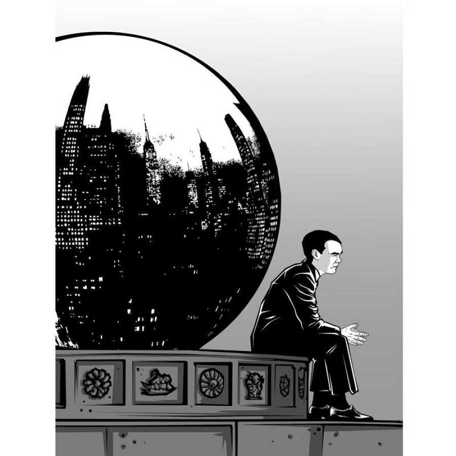Ilustración de 'Lorca. Un poeta en Nueva York'
