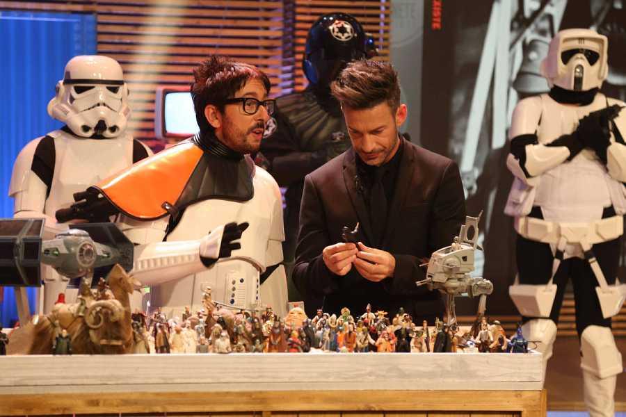 Flipy mostrará en 'Cinexín' los juguetes más característicos del mundo del cine como Star Wars