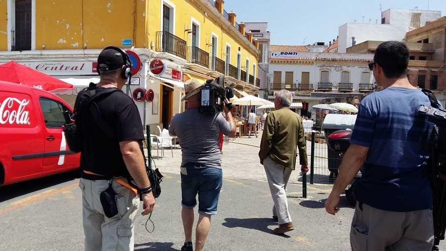 Acompañamos a José Luis Gómez durante la grabación del documental