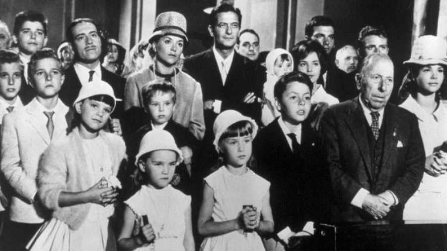 Pepe Isbert en la película 'La gran familia'