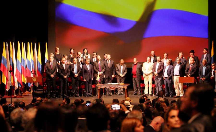 El Gobierno de Colombia y las FARC firman el nuevo acuerdo de paz