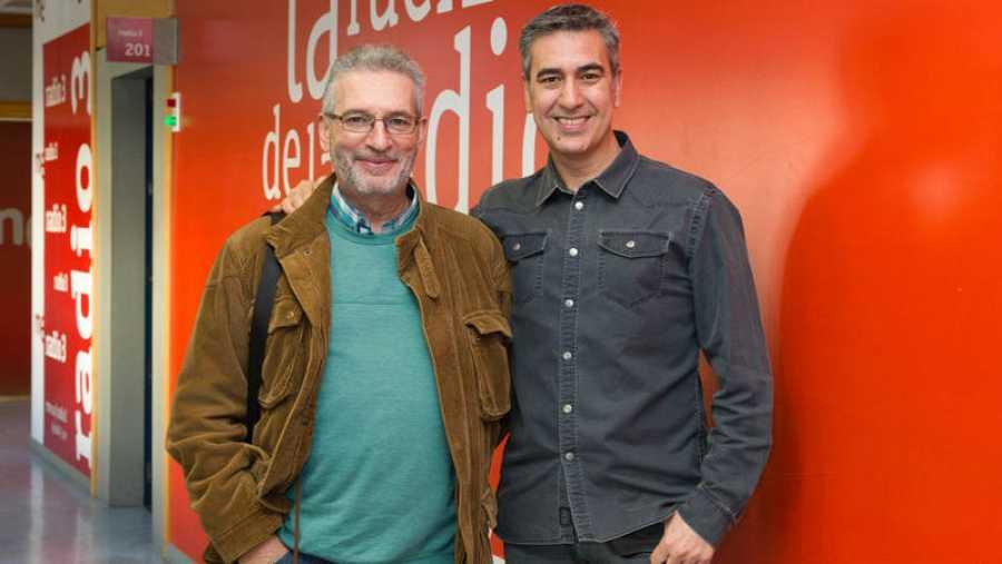 Carlos Isbert, con Arturo Martín