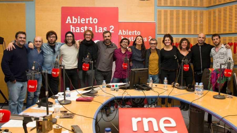Paloma Arranz y todo su equipo con Iván y Amaro Ferreiro y Perarnau
