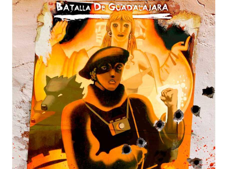 Ilustración de 'La batalla de Guadalajara'