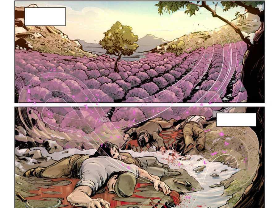 Viñetas de 'La batalla de Guadalajara'