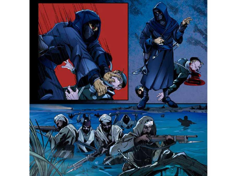 Viñetas de 'La batalla del Jarama'