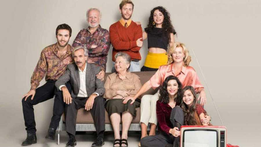Una de las series más populares en España, 'Cuéntame'