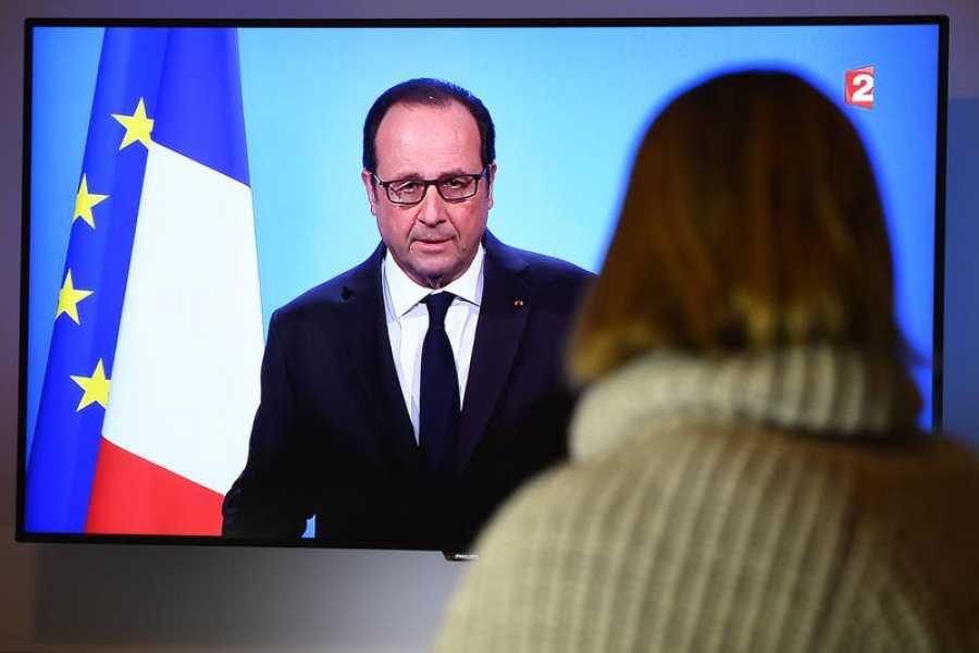 François Hollande ha anunciado que no optará a la reelección en una declaración televisada