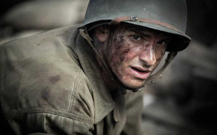 Andrew Gardfield interpreta al soldado Desmond T. Doss