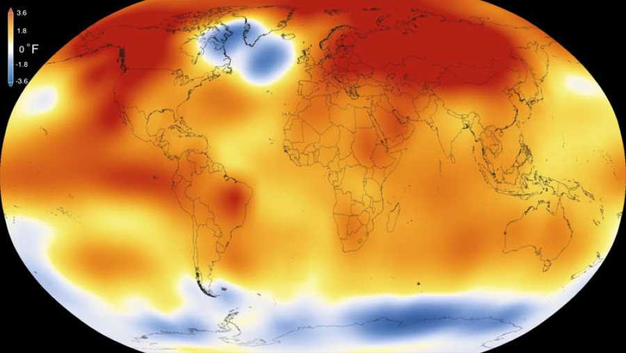 2015 fue el año más cálido desde que hay registros y 2016 podría batir una nueva marca