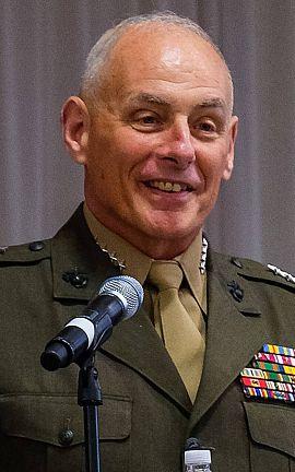 Fotografía de archivo del exjefe del Mando Sur, el general retirado John Kelly