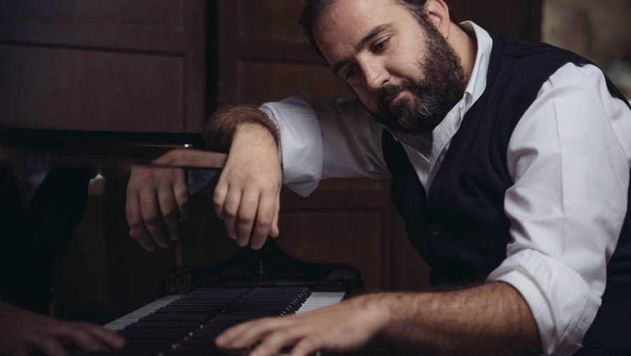 El pianista Carlos González