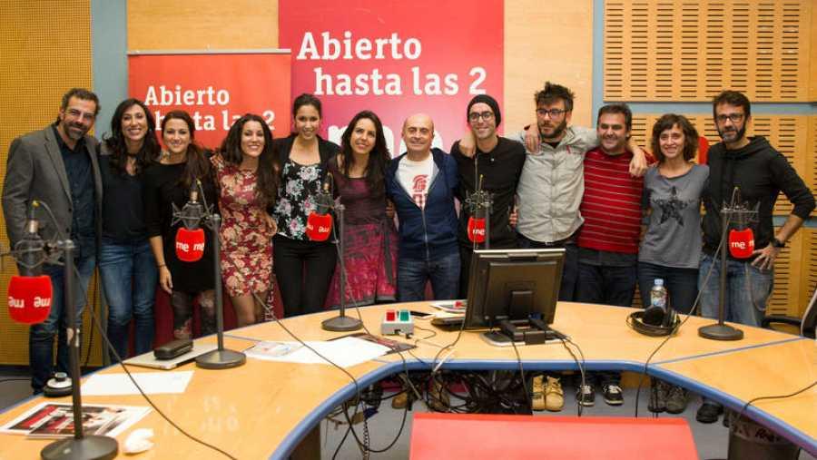 Las Migas, Paloma Arranz y todo el equipo del programa