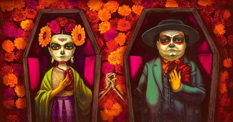 Frida Kahlo y Diego Rivera