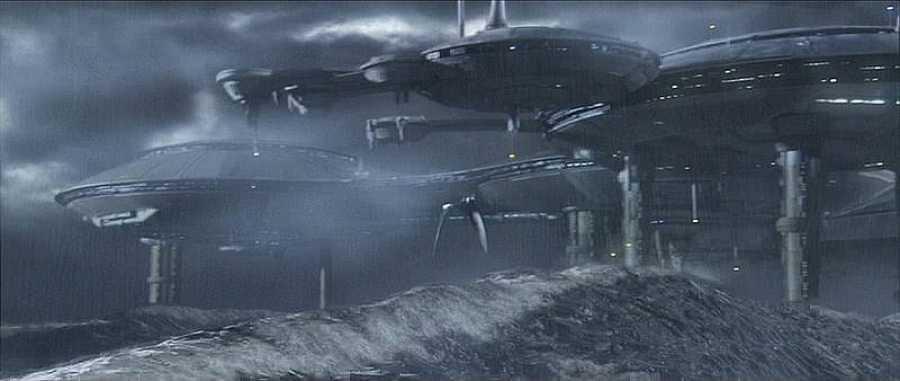 Kamino es en el universo de 'Star Wars' un planeta oceánico donde siempre llueve.