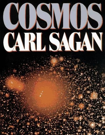 Portada del libro 'Cosmos', que sirvió para complementar a la serie.