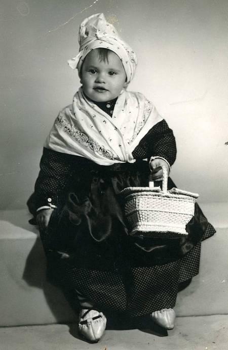 Ainhoa Arteta, de niña
