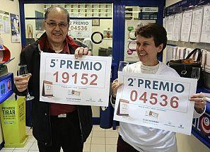 SEGUNDO PREMIO Y QUINTO PREMIO