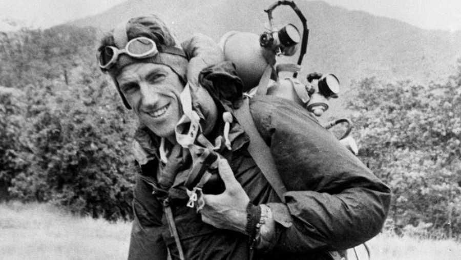 Edmund Hillary, el primero en coronar el Everest