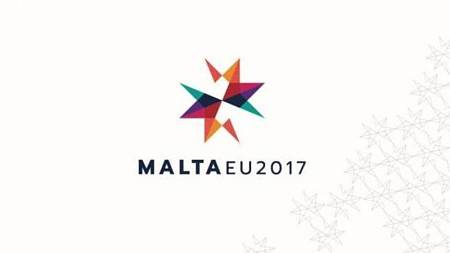 Logotipo de Malta para su presidencia de turno de la UE