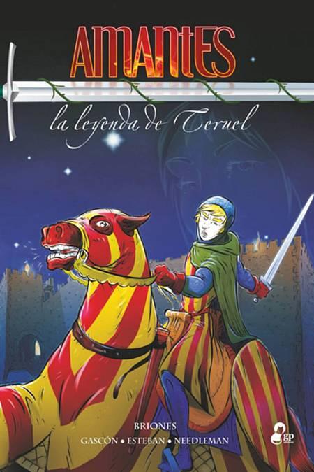 Portada de 'Amantes, la leyenda de Teruel'
