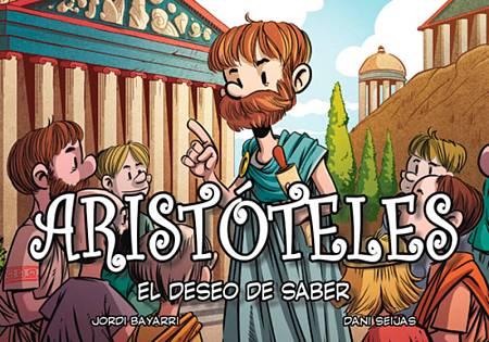 Portada de 'Aristóteles. El deseo de saber'
