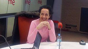 La ilustradora Ana Juan, en un momento de la entrevista.