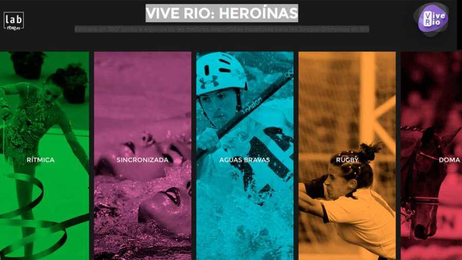 Vive Río: Heroínas