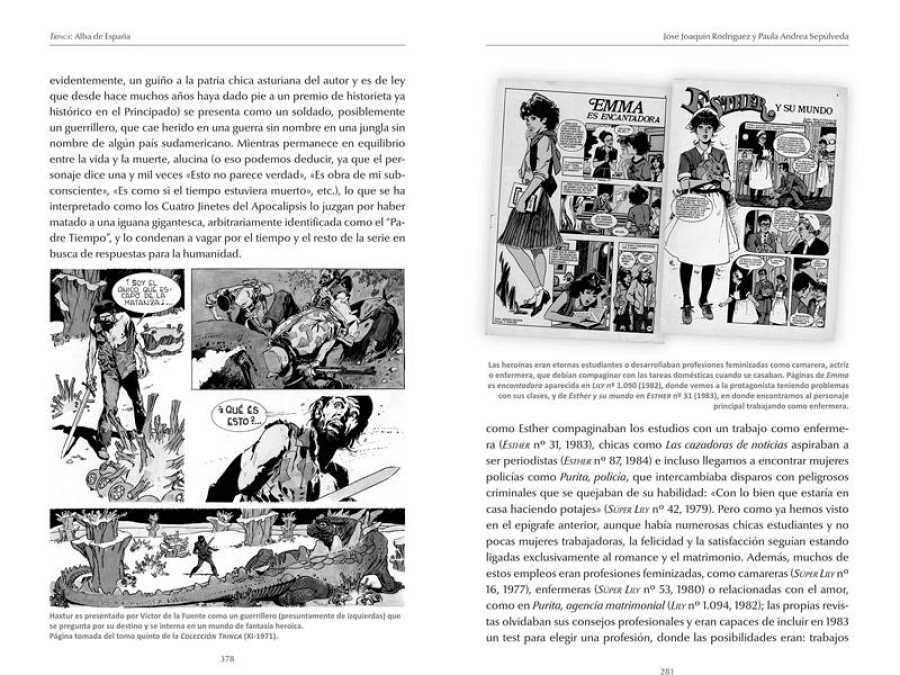 Páginas de 'Tebeos. Las revistas juveniles'