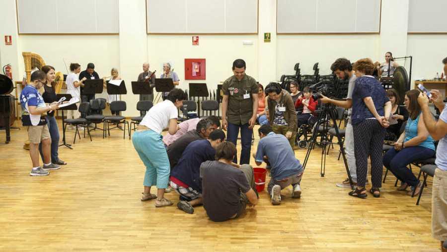La Sinfónica de Tenerife participa en el rodaje del documental sobre el proyecto Mosaico de Sonidos