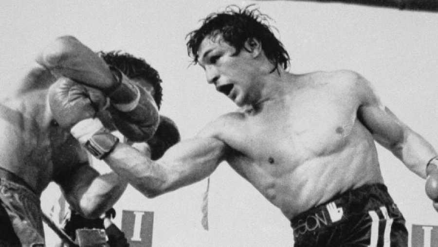 Míticos boxeadores sobre el ring