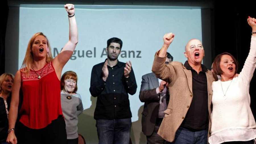 Diputados críticos con la actual gestora del PSOE.