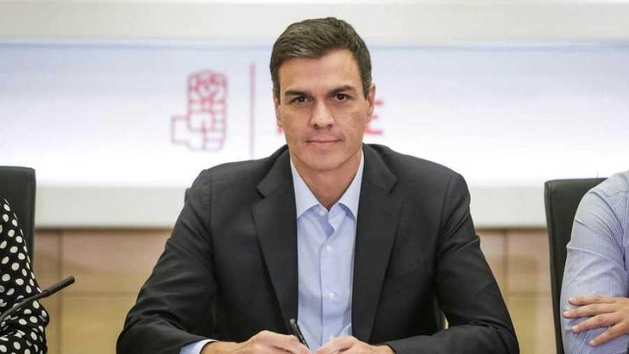 El ex secretario general del PSOE Pedro Sánchez.