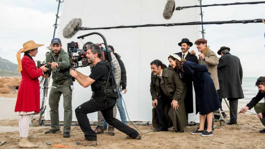 Imágenes del rodaje de 'El Ministerio del Tiempo'