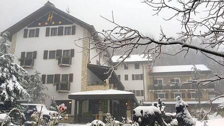 El hotel Rigopiano, en los Abruzzos italianos, en una imagen de su página en Facebook
