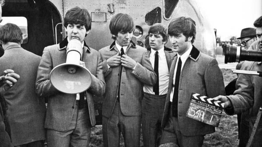 Los Beatles también trabajaron en el cine