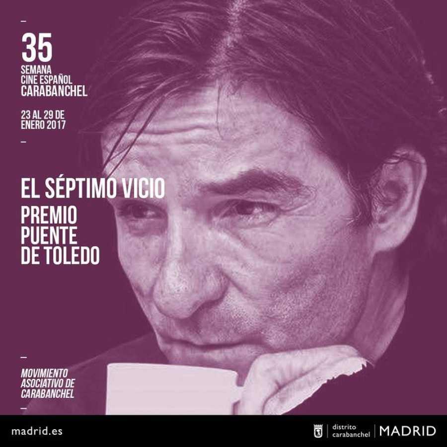 El séptimo vicio, Premio Puente de Toledo de Madrid