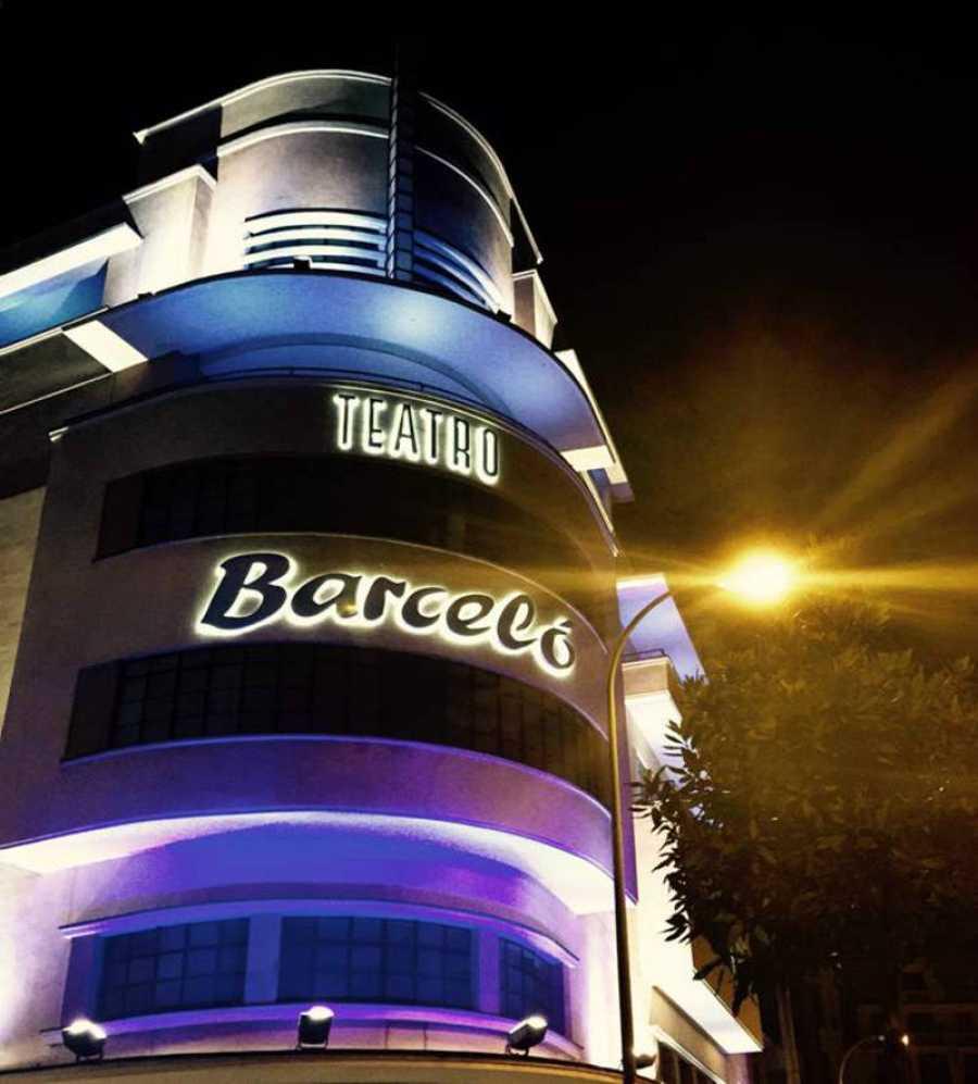Fachada del Teatro Barceló de Madrid