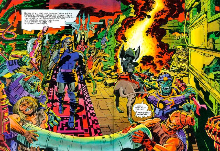 El cuarto mundo\', la obra maestra de Jack Kirby como autor ...