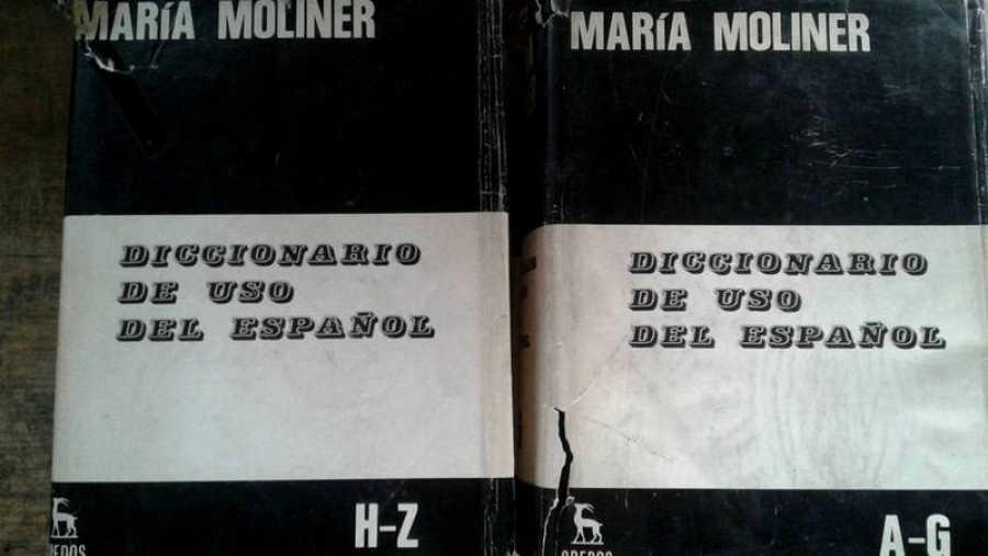 El diccionario de María Moliner