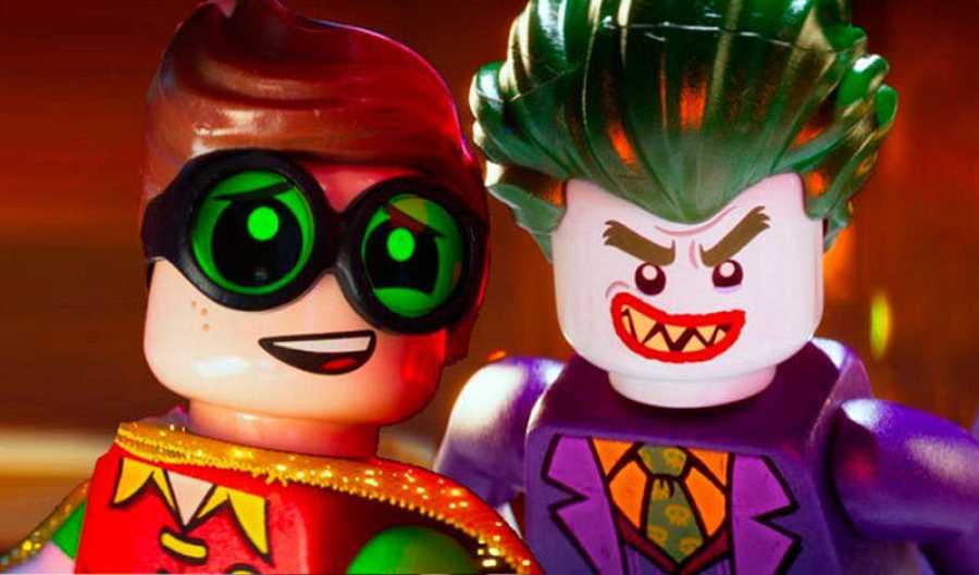 El Joker y Robin en versión Lego