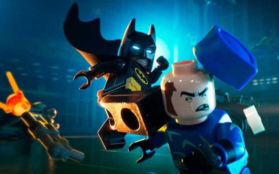 El Batman de Lego en acción